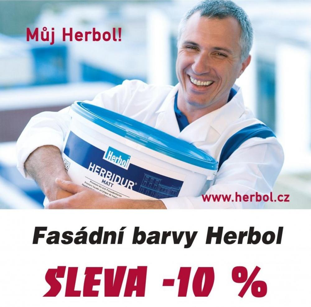 Podzimní fasádní sleva Herbol