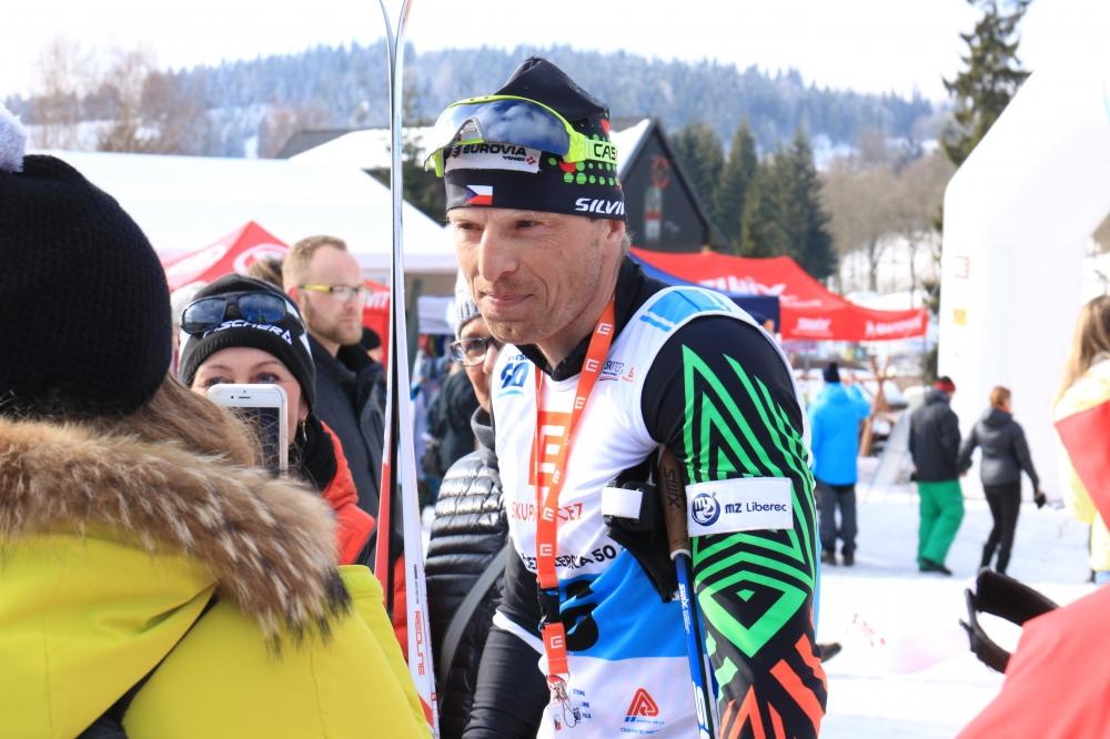 Stanislav Řezáč, trojnásobný vítěz Jizerské 50, nejlepší mezi českými účastníky 50 km CL